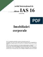 IAS Standardul International de Contabilitate IAS 16