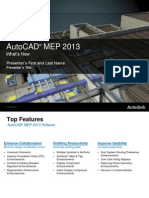 Autocad Mep 2013 Whats New Presentation En