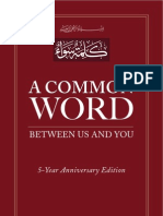 A Common Word 5 Yr Anniversary