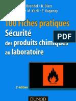 Sécurité des produits chimiques au laboratoire 100 fiches pratique DOC -DZ by NADJI 85