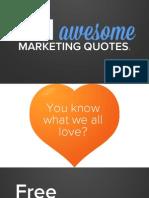 Marketing Quates