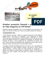 Patolino nocauteia Viscardi e garante título do Time Nogueira no TUF Brasil