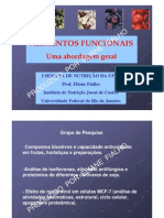Alimentos Funcionais - Uma Abordagem Geral PUBLICFILEea2e95647b3d0be3a17023cbb14b5a65