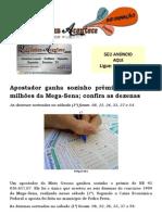 Apostador ganha sozinho prêmio de R$ 43 milhões da Mega-Sena; confira as dezenas.docx
