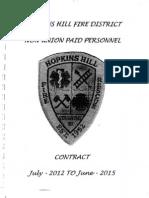 hhfd non-union employee agreement