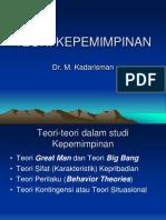 TEORI KEPEMIMPINAN