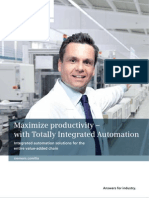 Totally integrated automation - Siemens