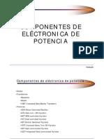 Componentes Electronica Potencia