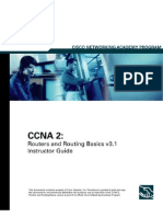 CCNA 2 Routers and Routing Basics v3.1 Instructor Guide()1