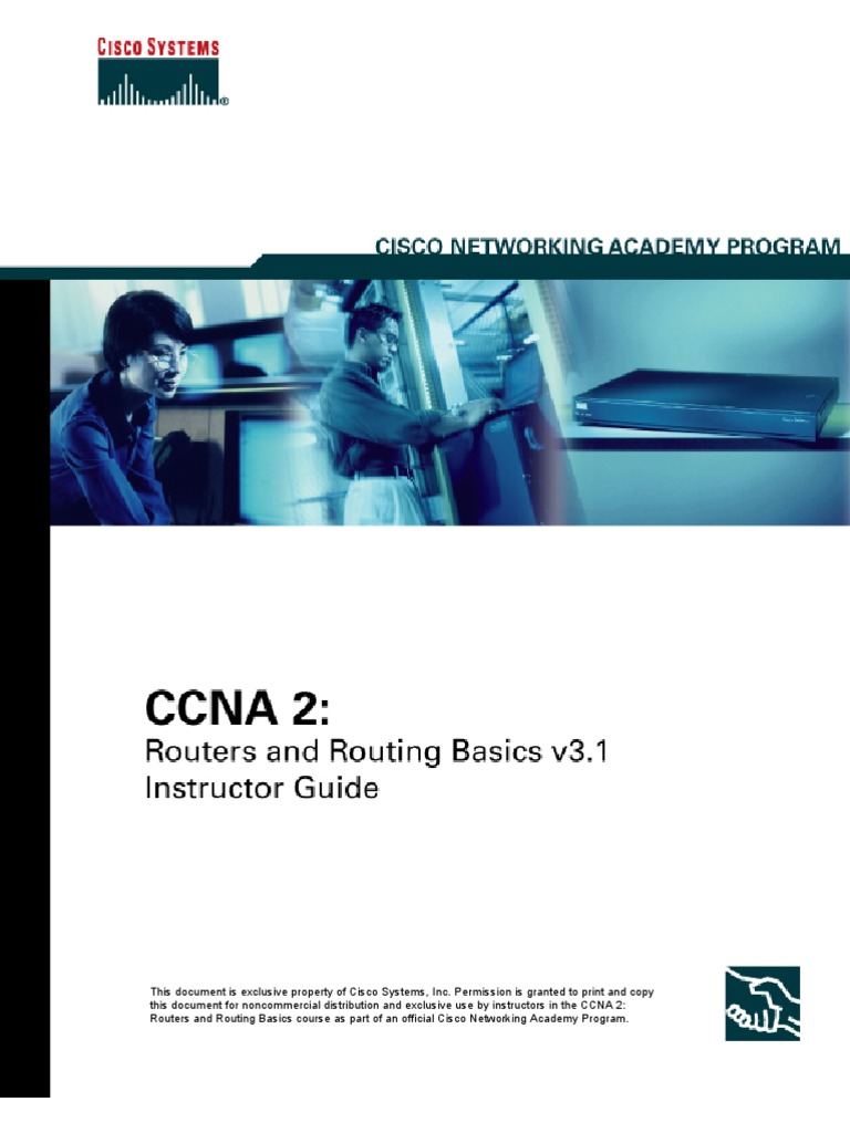 Ccna 2 Routers And Routing Basics V31 Instructor Guide1 Cisco Network Diagram Design Elements Win Mac Certifications Command Line Interface