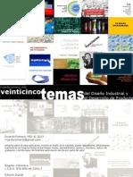 25 temas del diseño industrial