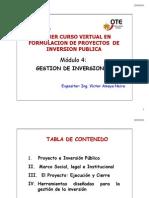 Modulo 6.- Gestion de Inversiones