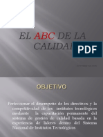 El ABC de La Calidad