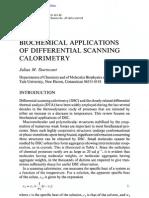 biochemical applications of DSC.pdf