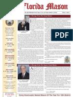 Florida Mason & Masonic Lifestyle 2013 Vol 6 Iss 1