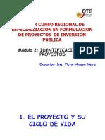 Modulo 2.-Identificacion de Proyectos