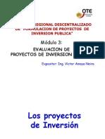 Modulo 5.- Evaluacion de Proyectos