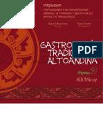 GASTRONOMIA TRADICIONAL ALTOANDINA