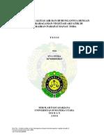 09E00101_Analisis Kualitas Air Dan Hubungannya Dengan Keanekaragaman Vegetasi Akuatik Di Perairan Parapat Danau Toba