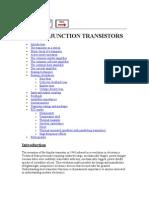 Transistor Fundamentals and Applications