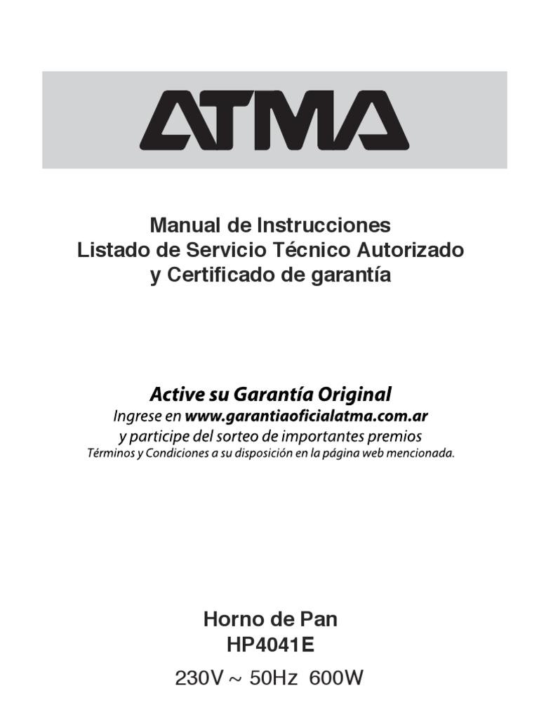manual atma hp4041 pdf rh pt scribd com manual easy cook manual atma easy cook hp4060e