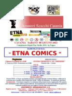 Torneo Rapid Etna Comics 2013
