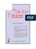 You Can Quit Tobacco - By Vance Ferrell