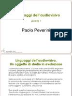 Linguaggi dell'Audiovisivo