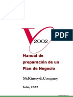 Manual Plan de Negocios Mckisey
