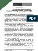 NP ANA Nuevo Reglamento de Autorizacion de Vertimientos y Reuso de Aguas Residuales1
