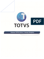 Manual Administrador TOTVS Série 1 - Varejo (Simples) - V11.7
