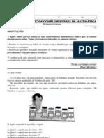 1 Lista de Exercicios Complementares de Matematica Numeros Inteiros Professora Michelle