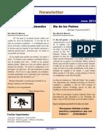 Newsletter Vol. 2 Num 8