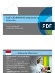 Use of Performance Standards in Indonesia