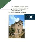 Historia de La Iglesia de Pradena