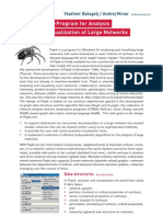 Pajek - Analysis & Visualization of Large Networks