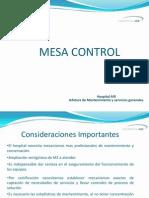 Presentacion Mesa Control