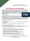 9 Types of Mnemonics for Better Memory