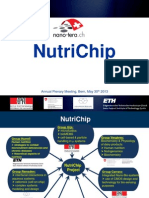 NutriChip, Nano-Tera annual meeting Bern 2013
