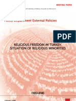 Religious Freedom in Turkey