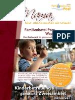 Restaurant Familienhotelpost 2013