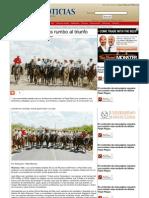 02-06-2013 Cabalga Pepe Elías rumbo al triunfo