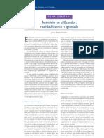 04. Femicidio en el Ecuador... Jenny Pontón Cevallos