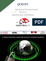 QCRYPT Nano-tera Bern 2013