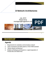 IEC 61850 Network Architectures