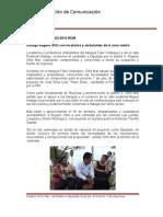 02-06-2013 Boletín 015 Dialoga Rogelio Ortiz con locatarios y ambulantes de la zona centro