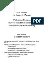 Acute Abdomen Ischaemic Bowel