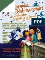 Programa Jornadas Internacionales en Buenos Aires