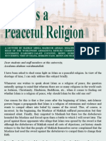 Islam is a Peaceful Religion