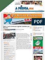 02-06-2013 Pepe y Laura construyen agenda ciudadana por Reynosa